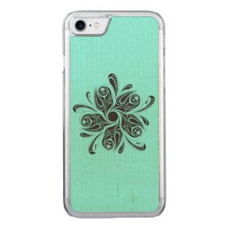 Flor selvagem capa iPhone 7 carved