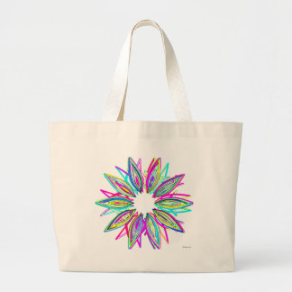 Flor selvagem por Lina 2014 Bolsa Para Compras