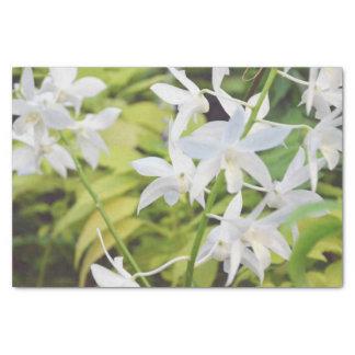 Flor temático papel de seda