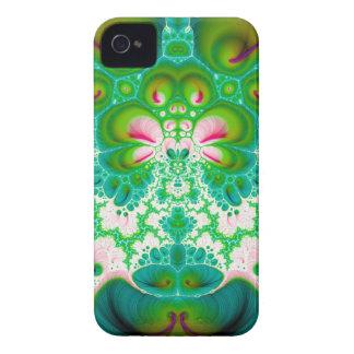 Flor V de Quetzalcoatl caixa corajosa de 7 Capinha iPhone 4