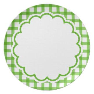 Flor verde prato de festa