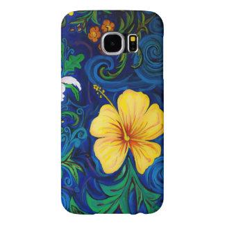 Flora da ilha de LineA Capa Para Samsung Galaxy S6