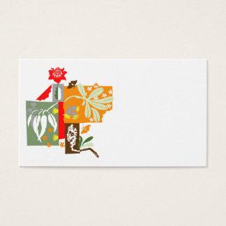 Flora de Bushland - cartão de visita