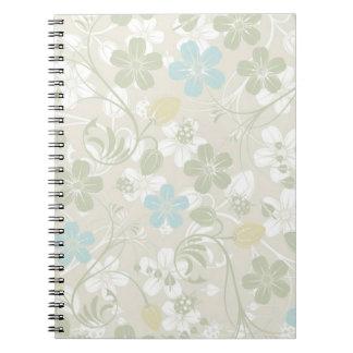 Floral Cadernos Espiral