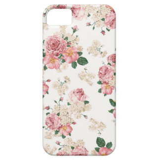 Floral Capa Barely There Para iPhone 5