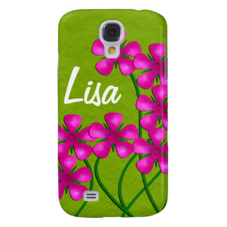 Floral Galaxy S4 Cover