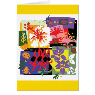 Floral - cartão
