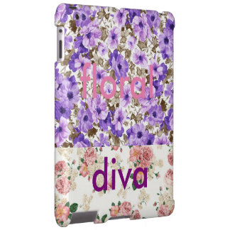 floral diva capa para iPad