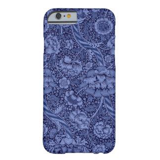 Floral e fita no azul capa barely there para iPhone 6