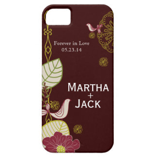 Floral festivo capa barely there para iPhone 5