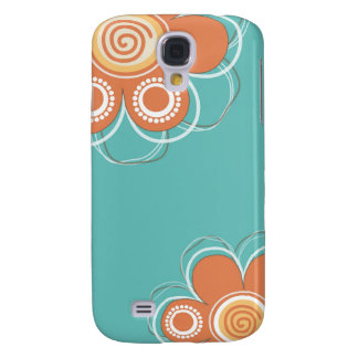 Floral Galaxy S4 Cases