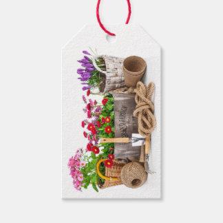 Floral/jardinagem/Tag do presente negócio das