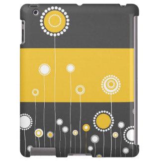 Floral moderno capa para iPad