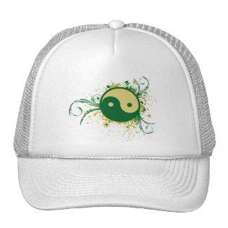 Floral verde de Yin Yang Bone