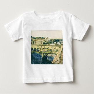 Florença na arte camiseta para bebê
