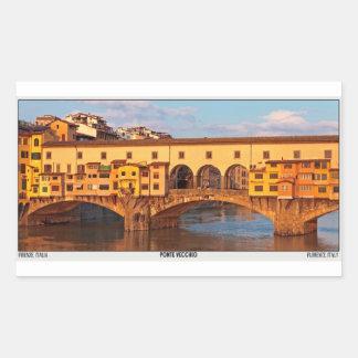 Florença - Ponte Vecchio Pano Adesivo