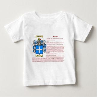 Florença (significado) camiseta para bebê