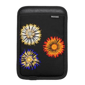 Flores abstratas luva de iPad mini