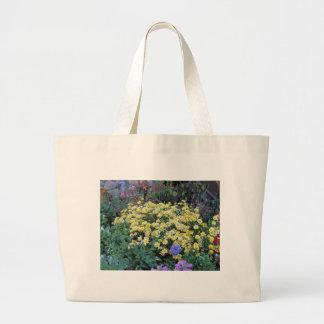 Flores amarelas bolsa