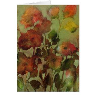 Flores antigas • Michelle Abrams - cartão
