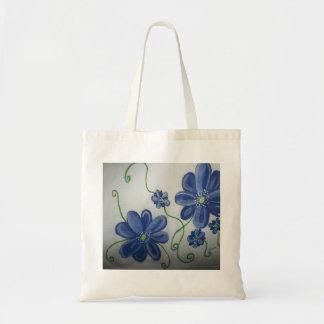 Flores azuis selvagens por Lina 2013 Bolsas