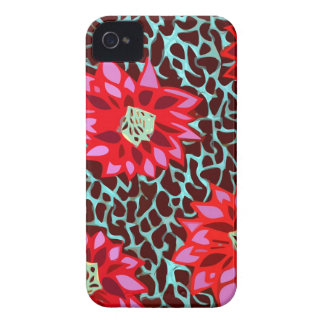 flores boémias capinha iPhone 4