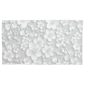 Flores brancas pequenas