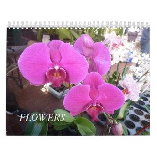 Flores Calendário