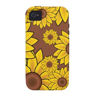 Flores Capa Para iPhone 4/4S