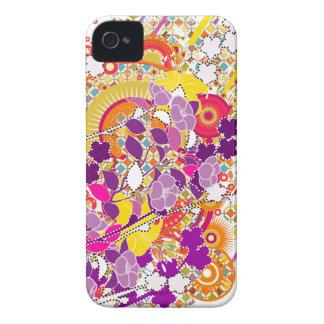 Flores coloridas capinhas iPhone 4