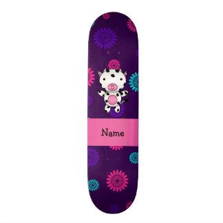 Flores conhecidas personalizadas do roxo do rosa d skate