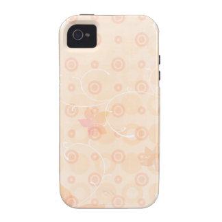 Flores cor-de-rosa capas para iPhone 4/4S