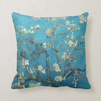 Flores da amêndoa almofada