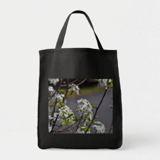 Flores da árvore de pera de Bartlett Sacola Tote De Mercado