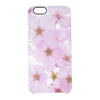 Flores da flor de cerejeira em Tokyo Japão Capa Para iPhone 6/6S Transparente