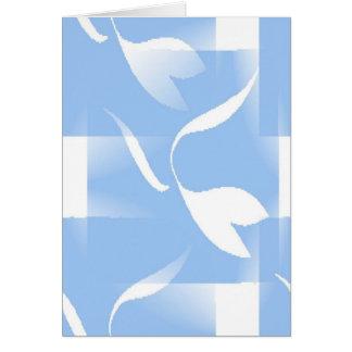 Flores da homenagem de Matisse Cartão De Nota