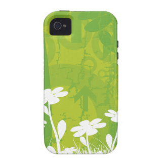 Flores da margarida capinhas para iPhone 4/4S