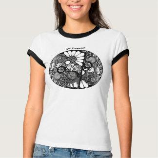 Flores da queda camiseta