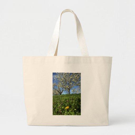 Flores de Apple, Hood River, Oregon Bolsas De Lona