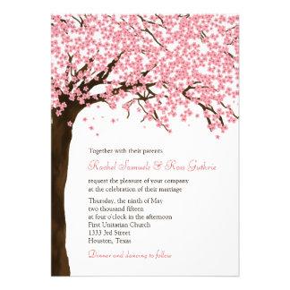 Flores de cerejeira casamento aguarela de Sakura