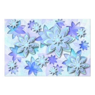 Flores de lótus do abstrato da mandala do impressã impressão de foto