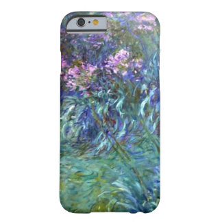 Flores do Agapanthus do impressionismo por Monet Capa Barely There Para iPhone 6