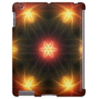 Flores do arco-íris do Fractal, caso do iPad Capa Para iPad