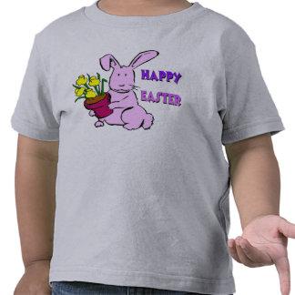 Flores do coelhinho da Páscoa Camiseta