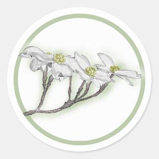 Flores do Dogwood Adesivo
