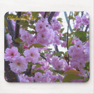 Flores do primavera mouse pad