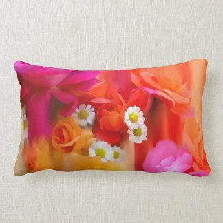 Flores do verão almofada lombar