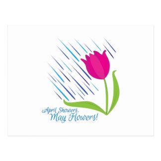Flores dos chás cartão postal
