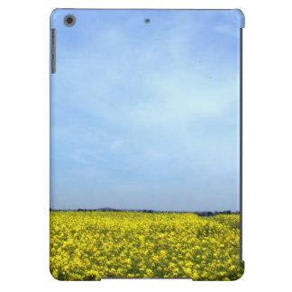 Flores e céu capa para iPad air