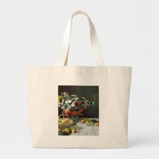 Flores e fruta (1869) bolsas para compras